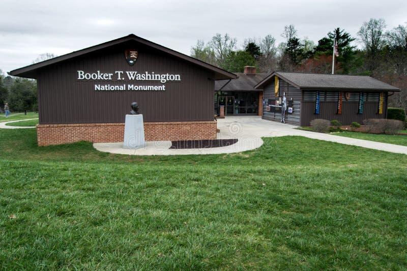 Booker T Monumento nazionale di Washington fotografia stock