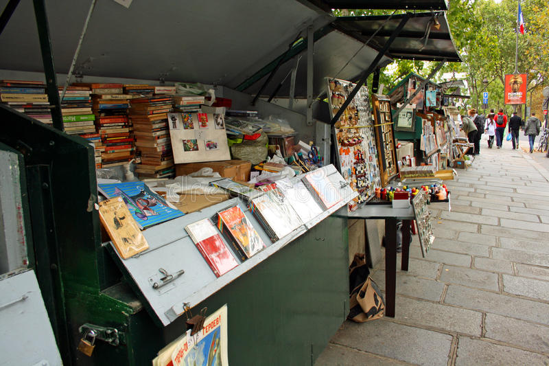 Bookinists In Paris Editorial Photo