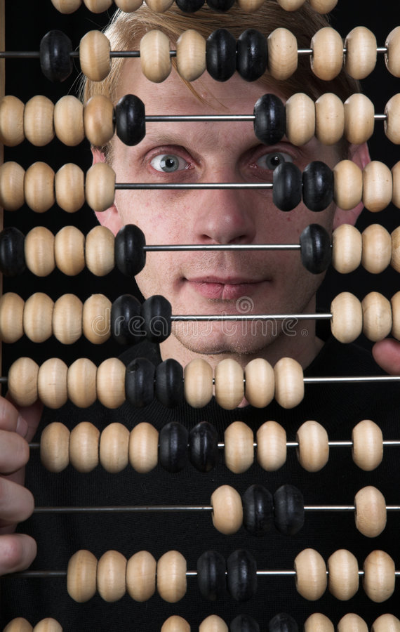 Download The Bookkeeper And Abacus Royalty Free Stock Photo - Image: 5131285