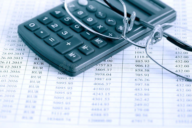 Bookkeeping Concept stock images