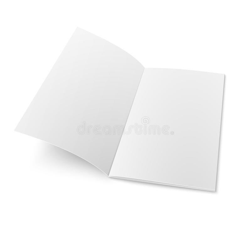 Free Booklet Template On White Background. Royalty Free Stock Images - 36907299