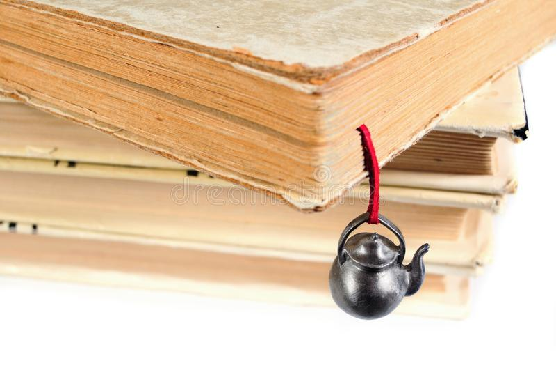 bookmark записывает ручной работы используемый стог стоковые фото