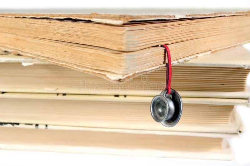 bookmark записывает ручной работы используемый стог стоковые изображения rf