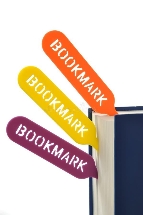Bookmark stockbild