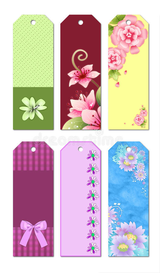 bookmark designs stock illustration image of cute bookmarks 19554927