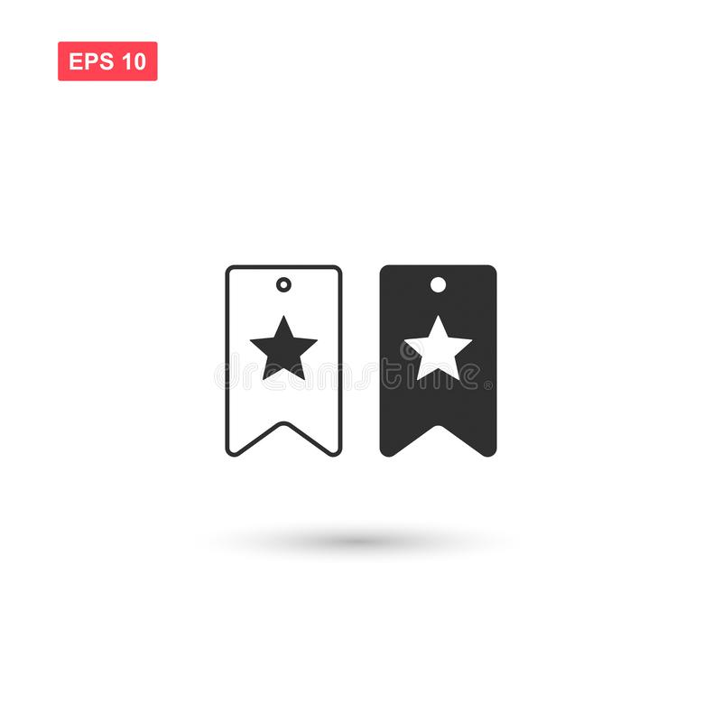 Free Bookmark Icon Vector Design Isolated 5 Royalty Free Stock Photo - 137021685