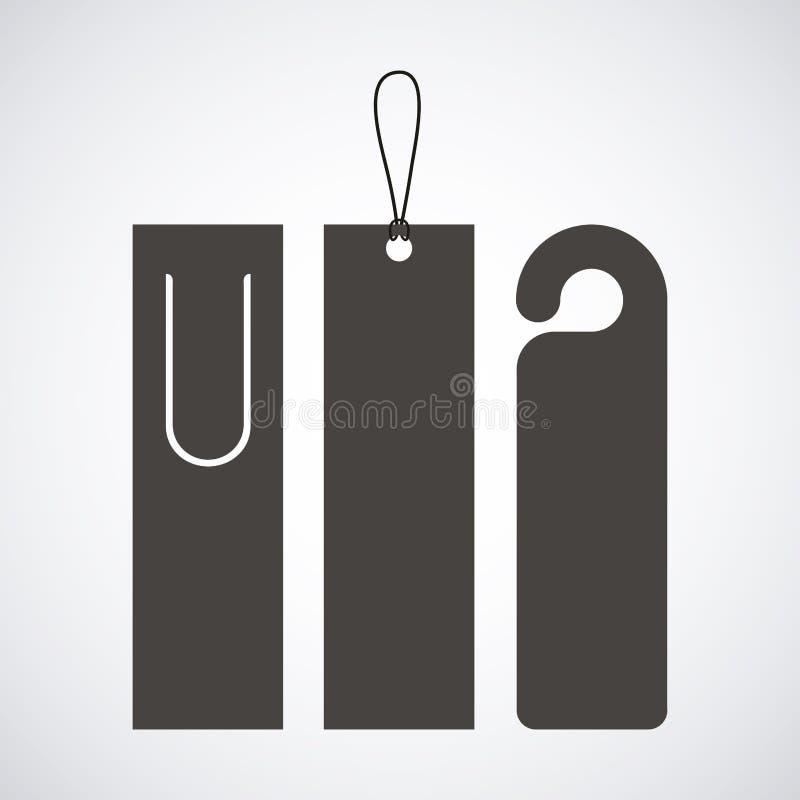 Free Bookmark Label Tag Design Stock Image - 78441801