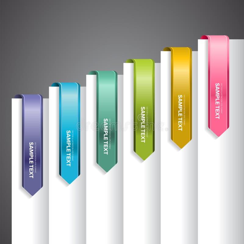 Download Bookmark Przylepia Etykietkę Strzała Ilustracja Wektor - Ilustracja złożonej z fałdowy, bookmark: 28973878