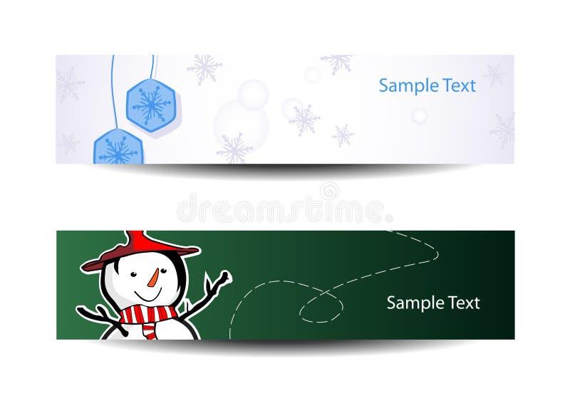 bookmarks рождество шикарные 3 иллюстрация вектора