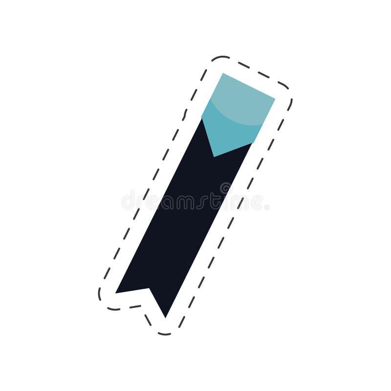 bookmarks faborku stylu wizerunek ilustracja wektor