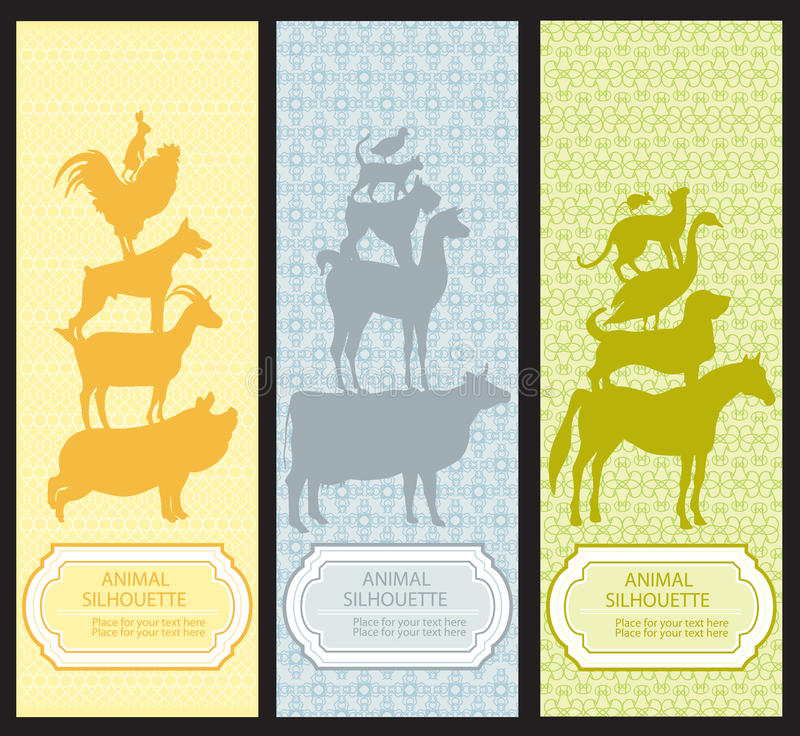 Colorful Bookmark Tags Mockup Design: Cute Animal Bookmarks Stock Vector. Illustration Of Hare