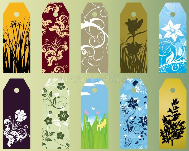 bookmarks ustawiający royalty ilustracja