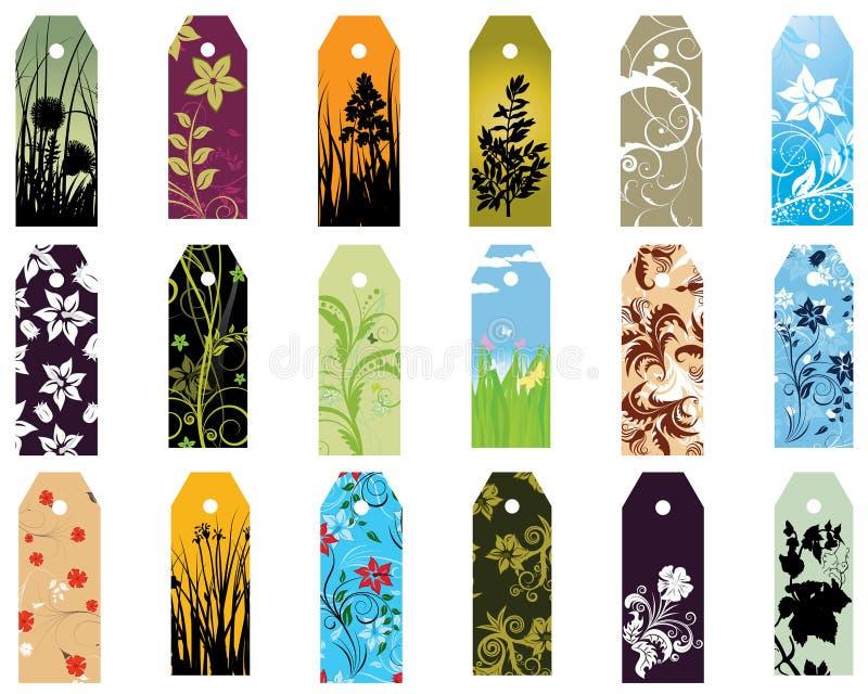 bookmarks ustawiający ilustracji