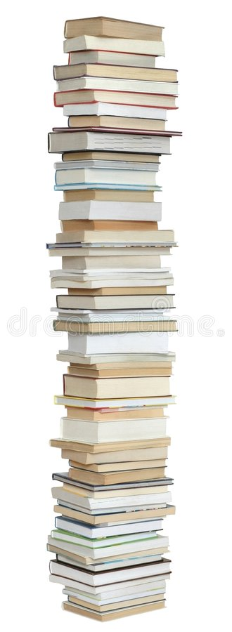 Download Books stock image. Image of stack, library, tall, text - 111577