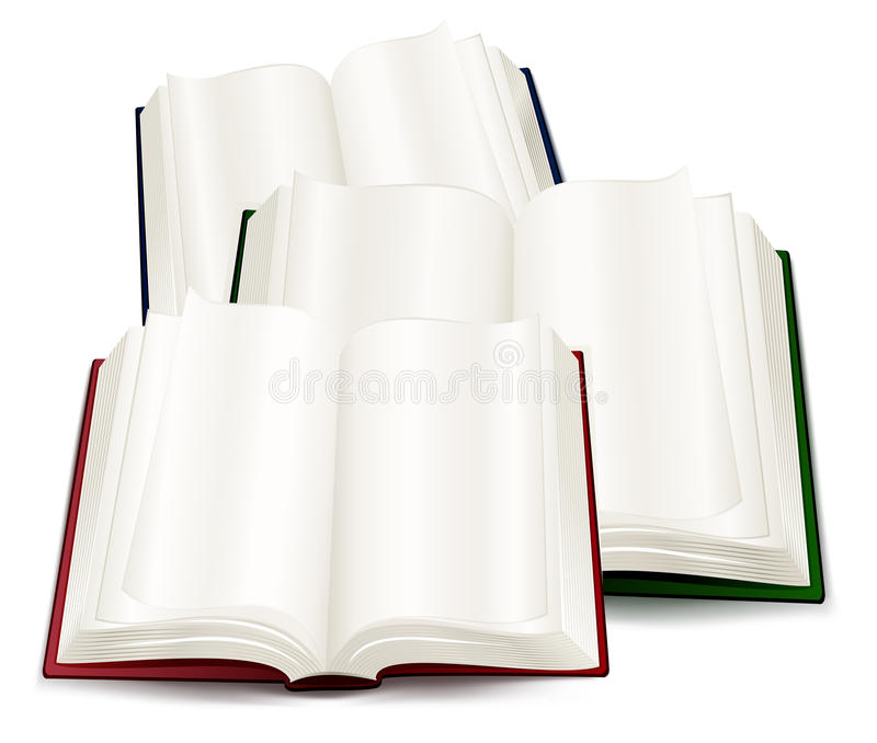 Download Books stock vector. Illustration of education, blue, read - 13826473