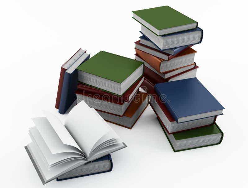 Books vector illustration