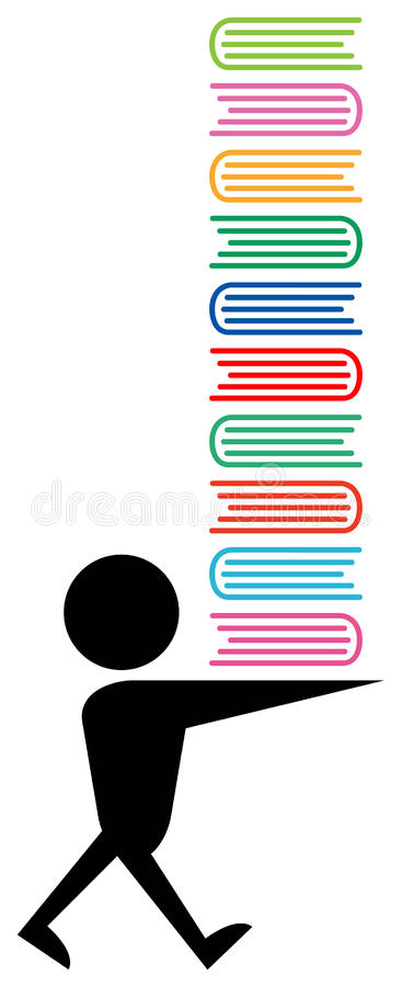 Download Books stock vector. Illustration of text, clip, design - 15466619