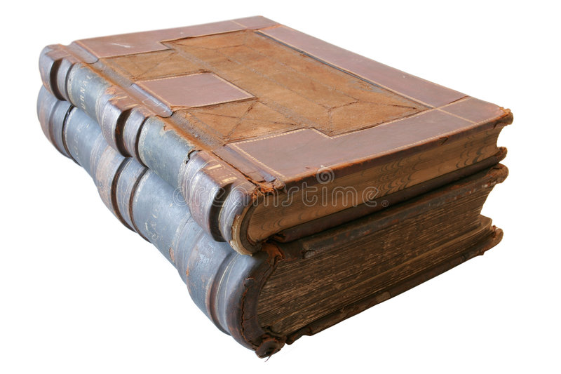 Books from 1860 royalty free stock photos