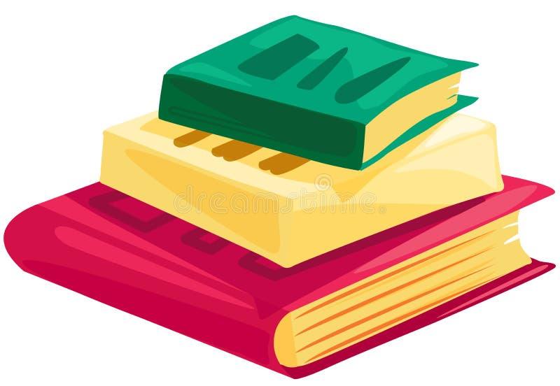 Books royalty free illustration