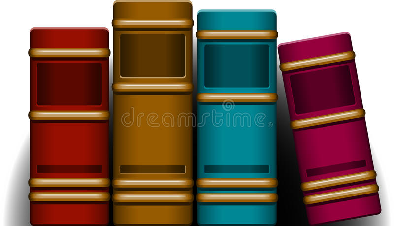 Download Books stock vector. Image of blue, publication, information - 26534824
