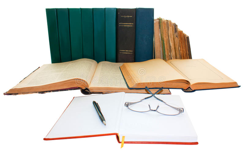 Download Books stock image. Image of open, books, education, paper - 26817791