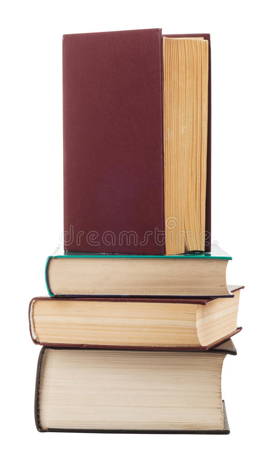 Download Books stock image. Image of dirty, isolated, information - 29030681