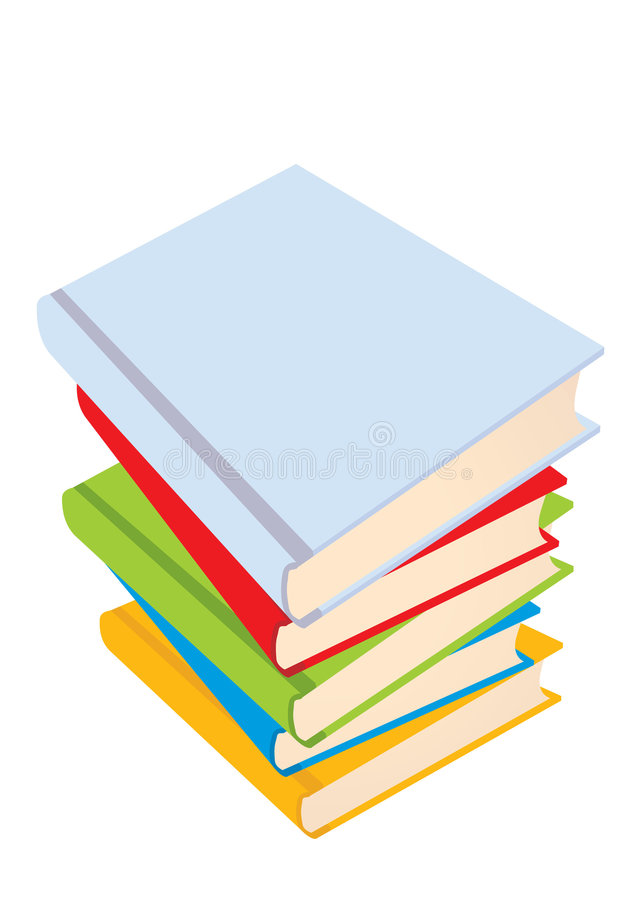 The Books Stock Image