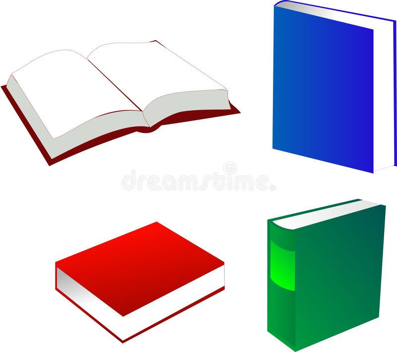Books royalty free illustration