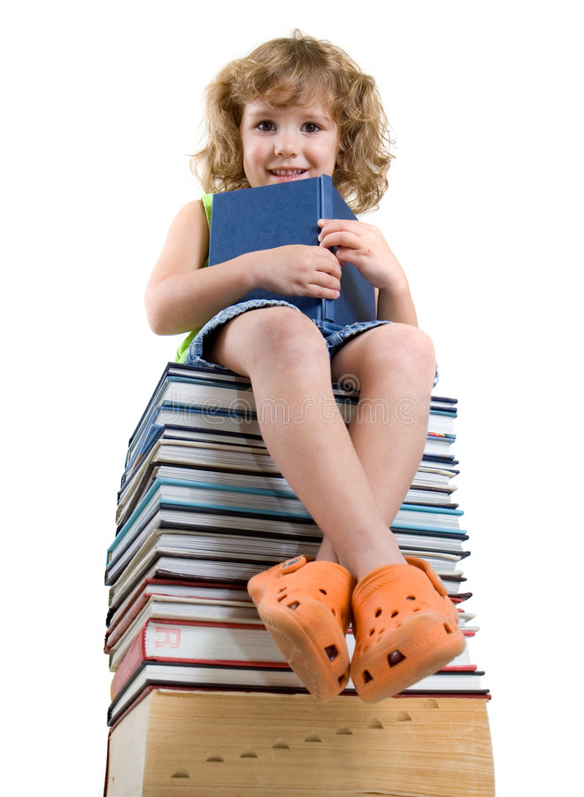 Download Books stock image. Image of cute, looking, read, reading - 6458405