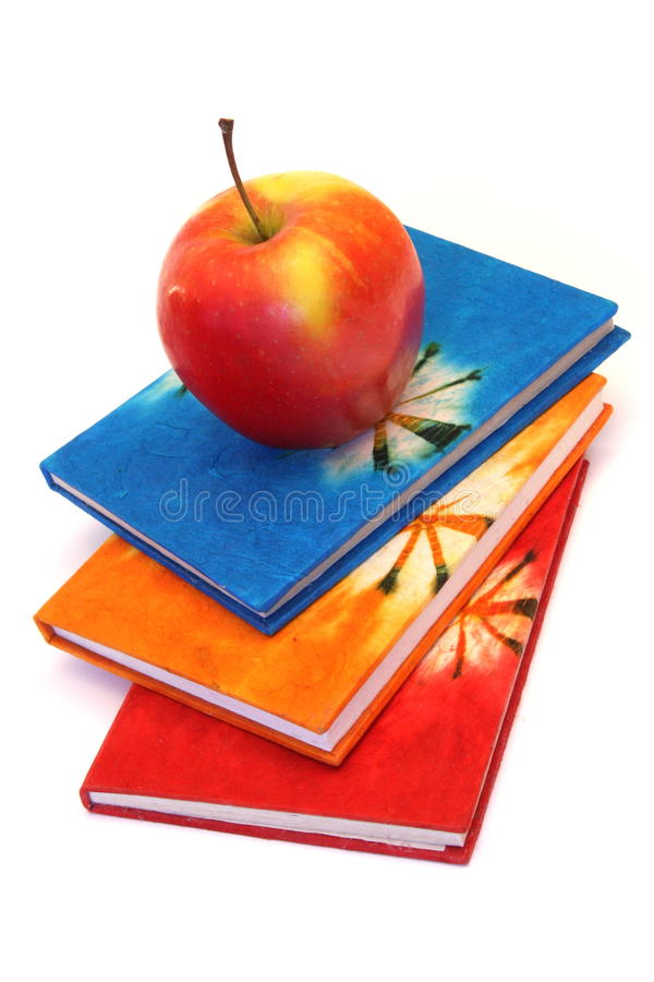 Free Books And Apple Stock Images - 12348884