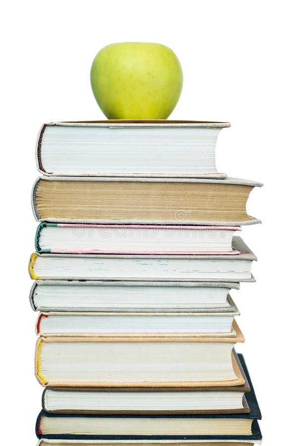 Free Books And Apple Stock Photos - 12967773