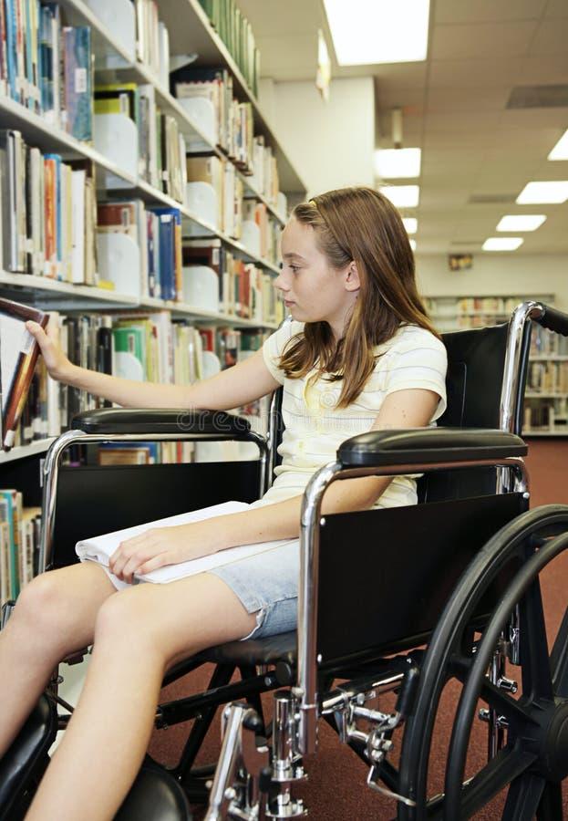 books arkivskolan royaltyfri bild