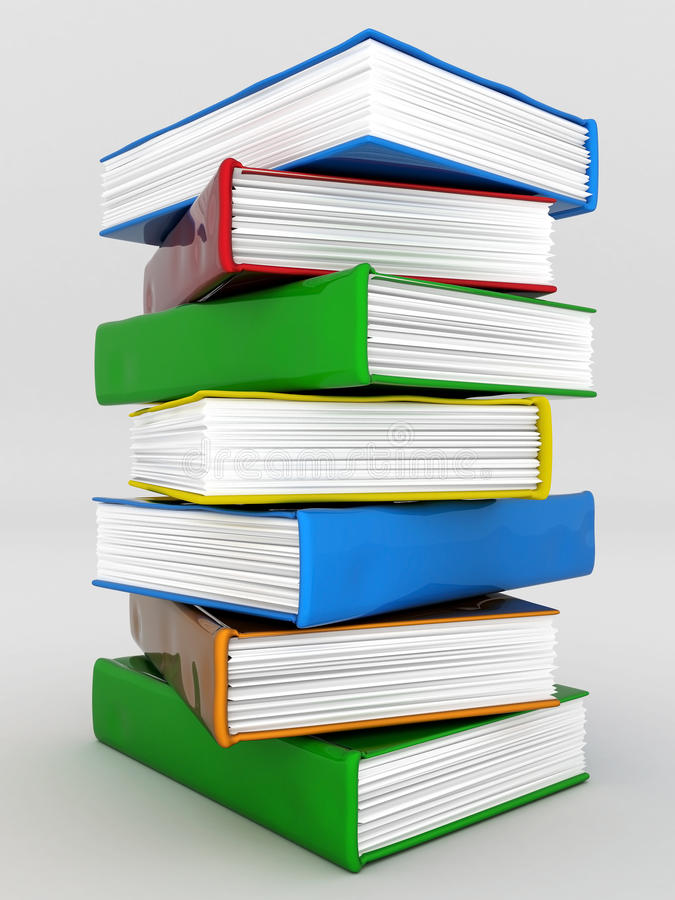 Books Bindings And Literature Stock Image