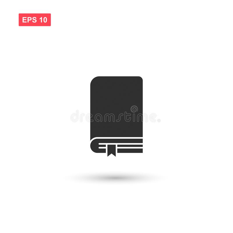 Books bookmark icon vector design isolated 3 royalty free illustration