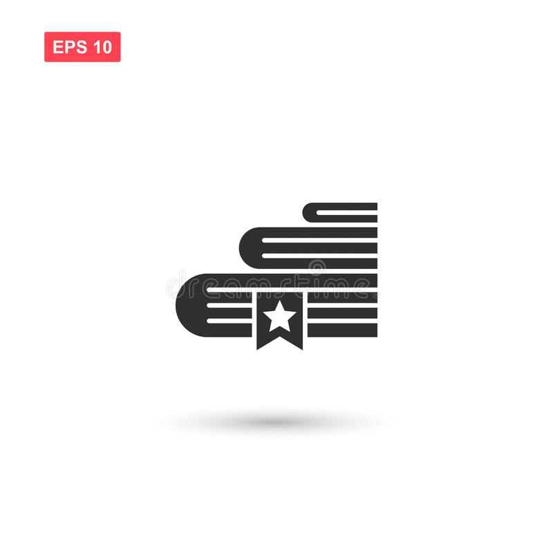 Books bookmark icon vector design isolated 5 royalty free illustration