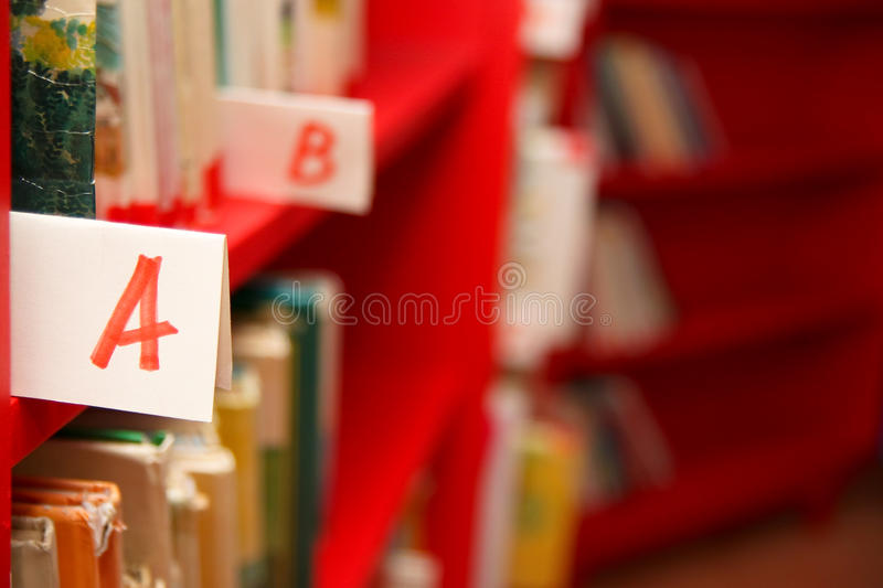 Books On Bookshelf In Library Royalty Free Stock Photo