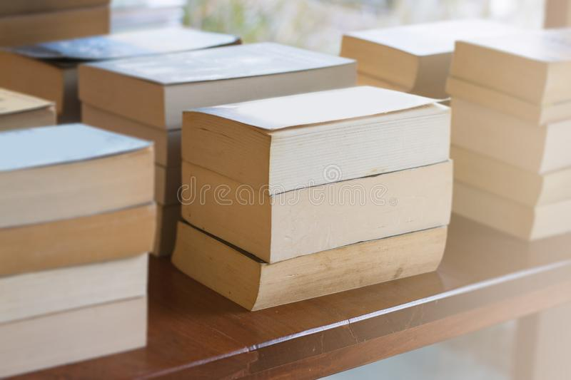 Books in the bookstore and study.  royalty free stock photo
