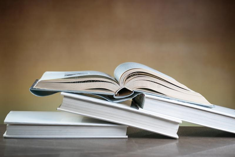 Books.  The criminal law royalty free stock image