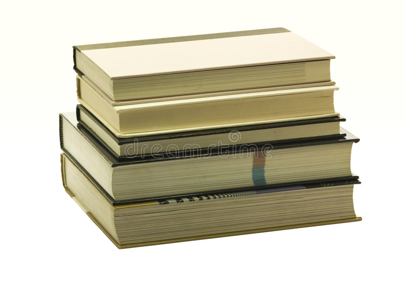 Download Books On Each Other And Ready To Read Stock Photo - Image: 7576232