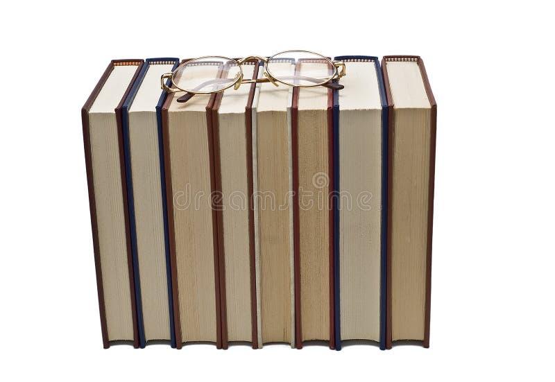 books exponeringsglas några royaltyfria foton