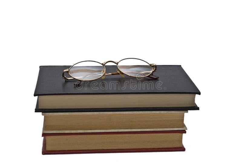 books exponeringsglaspar royaltyfria foton