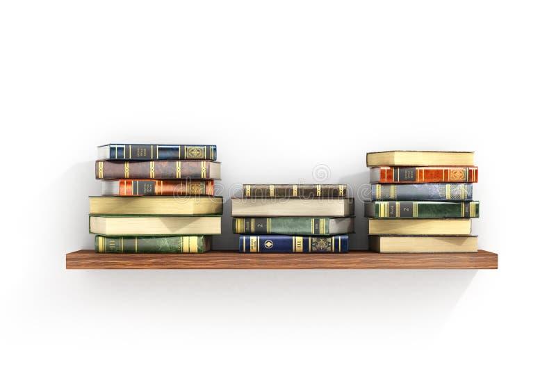 books färgrikt royaltyfri illustrationer