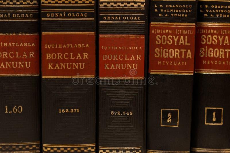 books gammal lag royaltyfria bilder