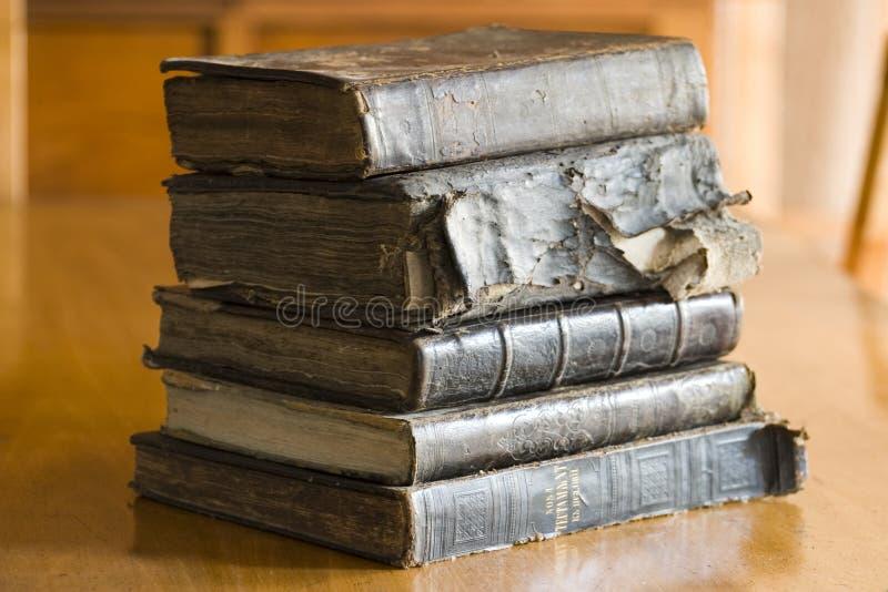 books gammalt arkivbilder
