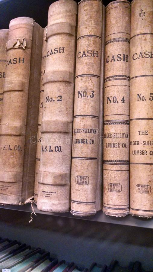 books gammalt royaltyfri foto