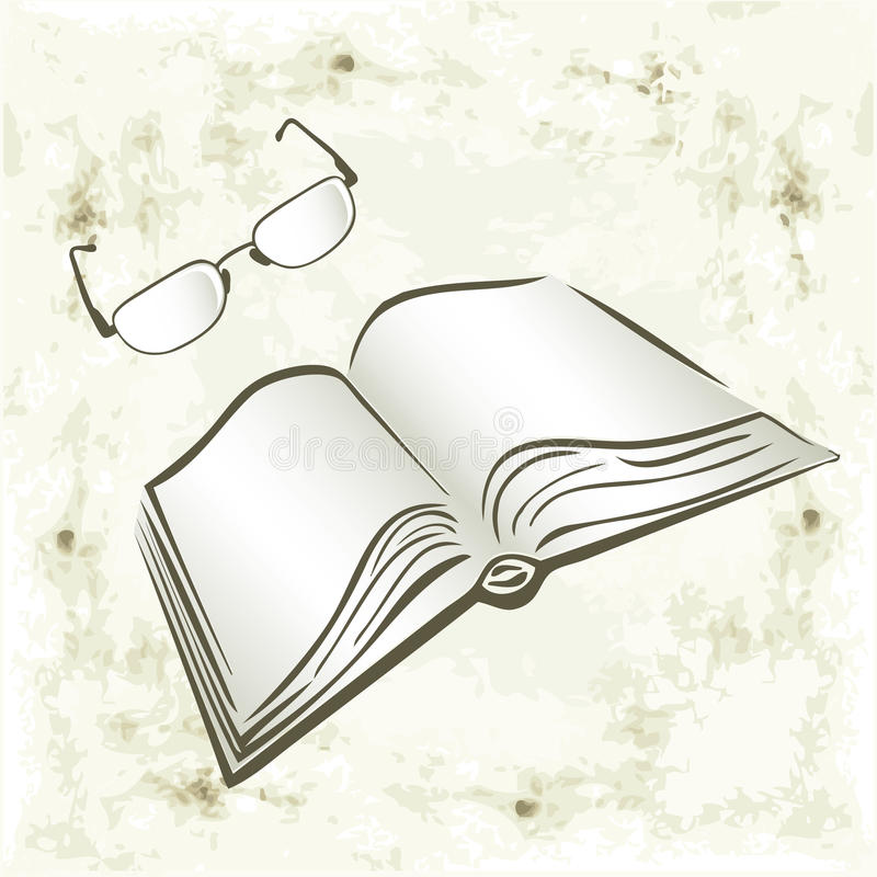 Download Books and glasses stock vector. Illustration of illustration - 21527295