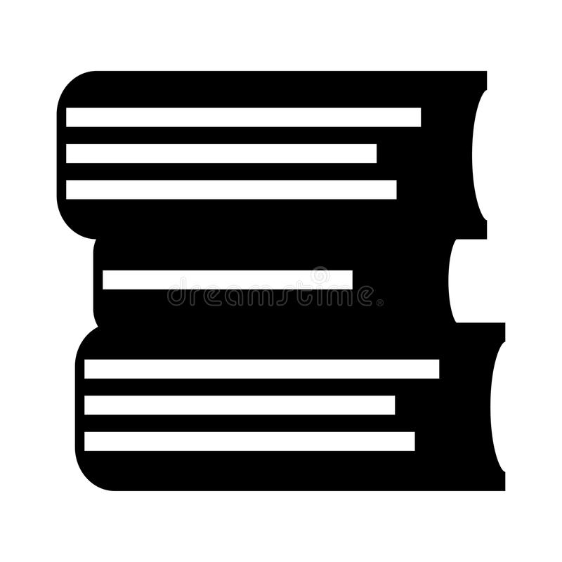 Books glyphs icon. Books Vector glyphs Icon. Elements for mobile concept and web apps. Thin line icons for website design and development, app development vector illustration