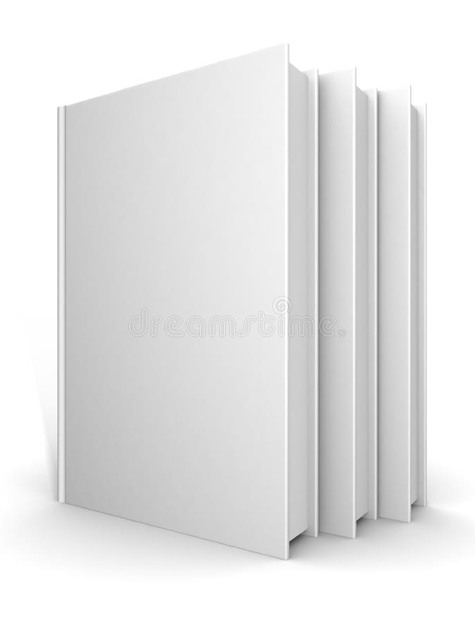 books on gray background royalty free stock photography