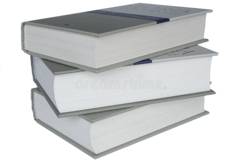 books historia royaltyfria bilder