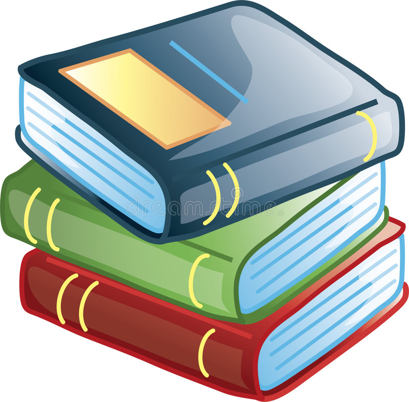 Books icon or symbol vector illustration